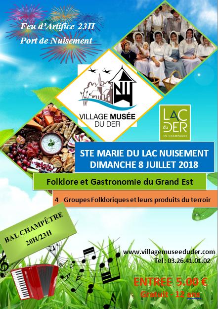 Folklore et Gastronomie du Grand Est