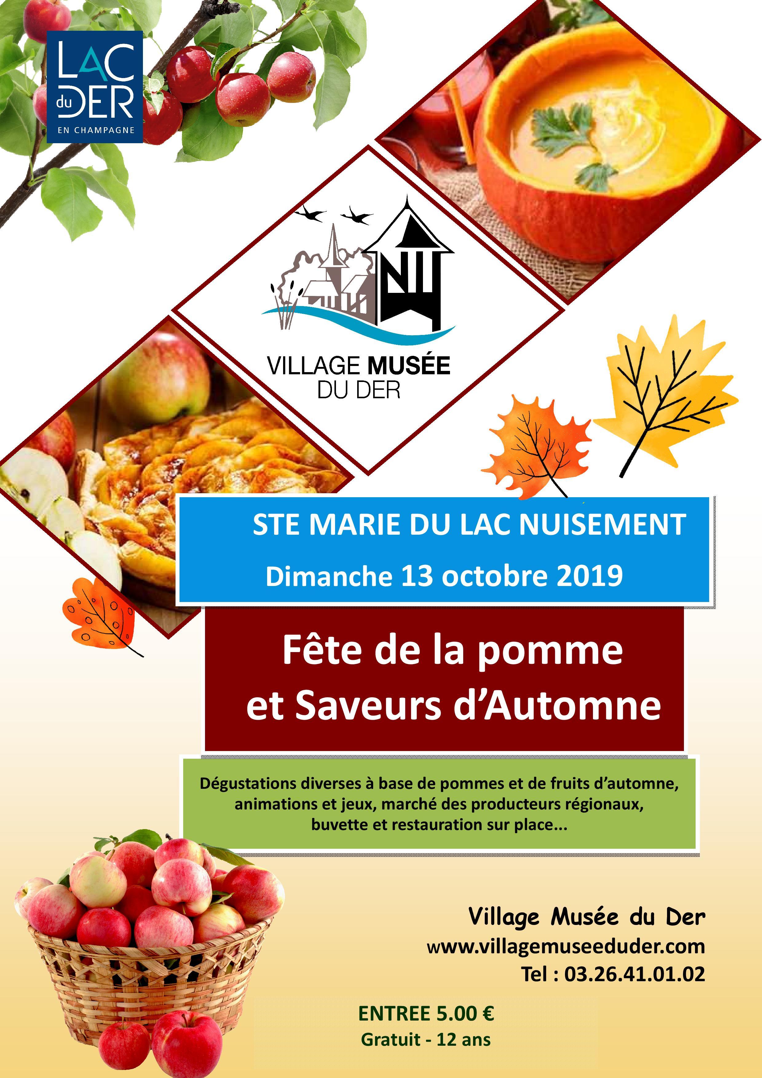 Fête de la pomme et des saveurs d'automne